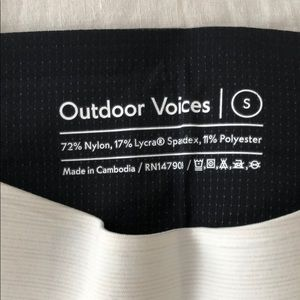 Outdoor Voices Pants - Outdoor Voices - TechSweat 7/8 Zoom Leggings